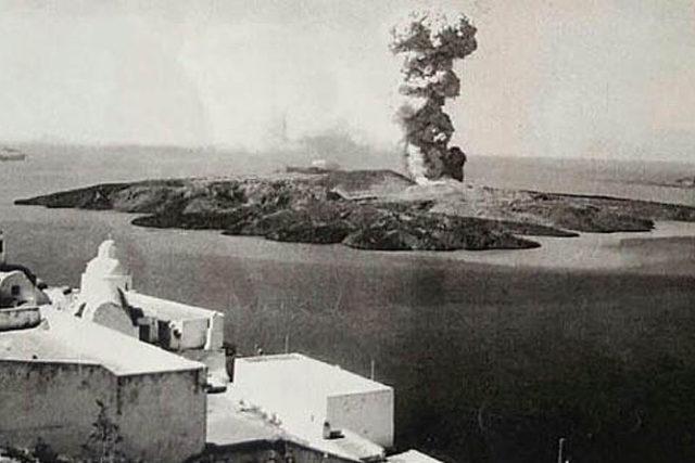 To Ηφαίστειο της Σαντορίνης